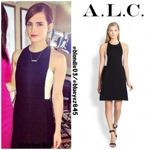 "A.L.C. ""Ruby"" two-toned mini Dress size 6"